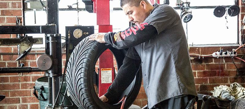 Tire Repair Banner