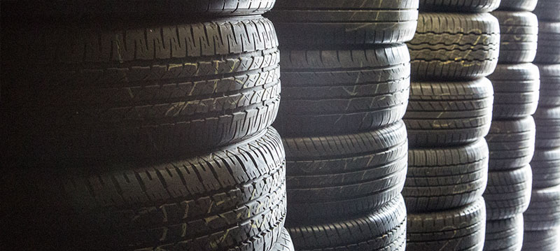 Used Tire Banner